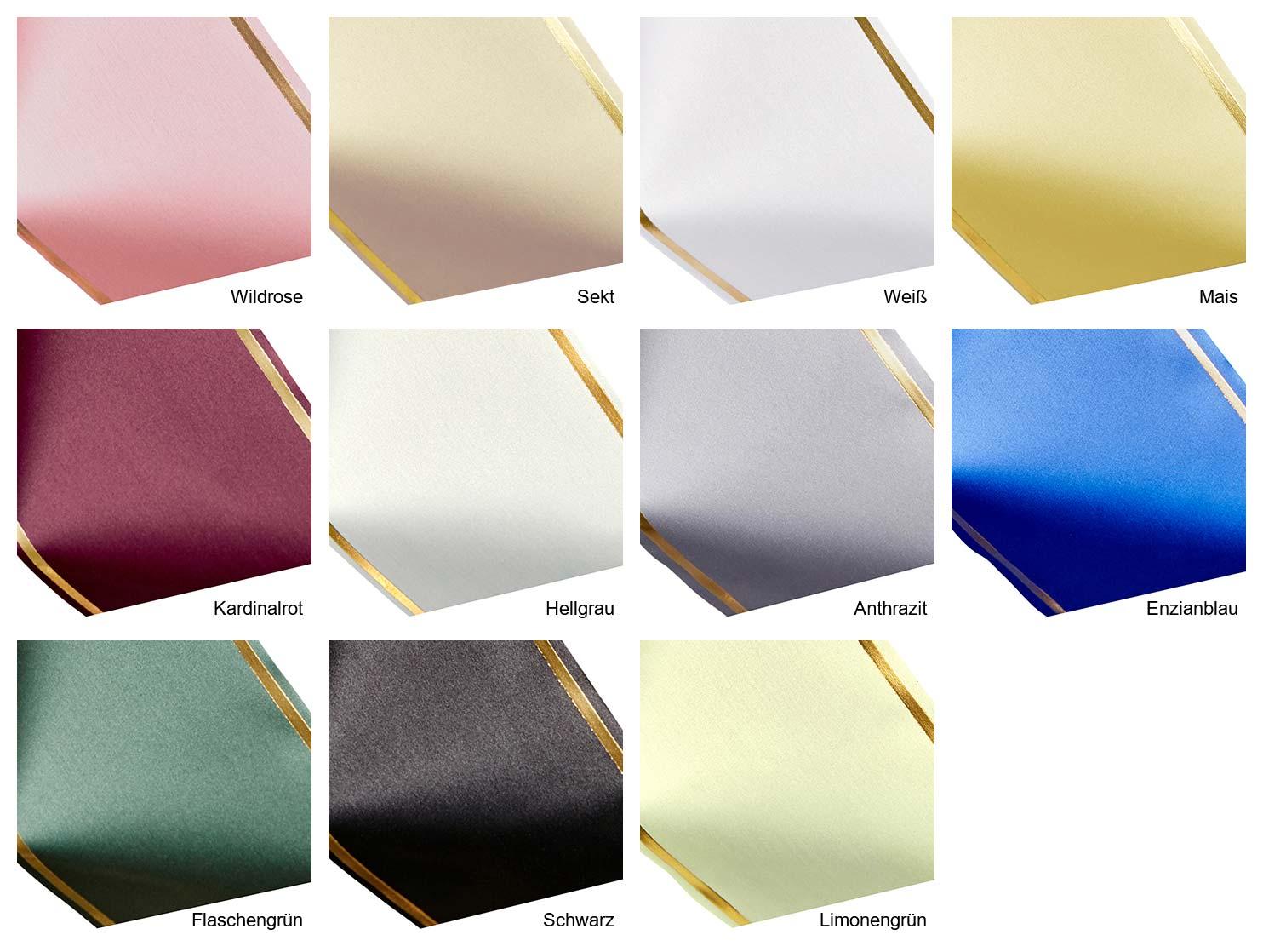 Farben Super-Satin Strichrandgold